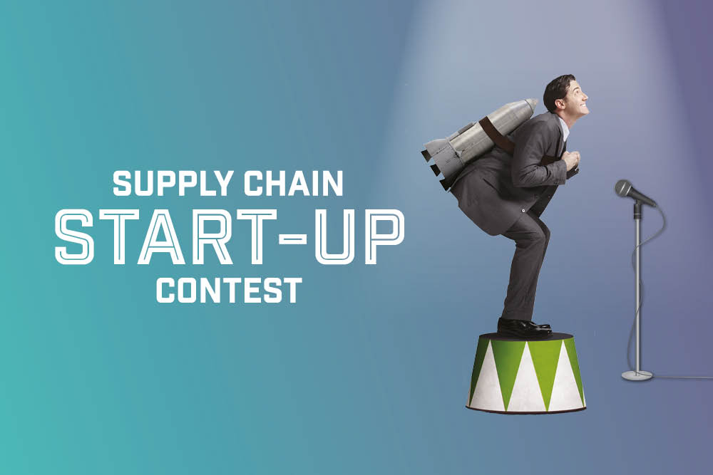 Let's meet the supply chain start-ups outside!