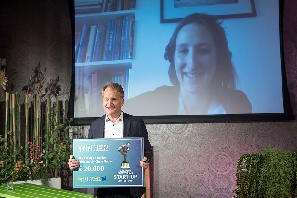 French start-up Winddle wins the fourth European Supply Chain Start-up Contest